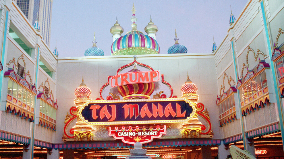 New Jersey Businesses Say Trump Never Paid Up for Taj Mahal Work
