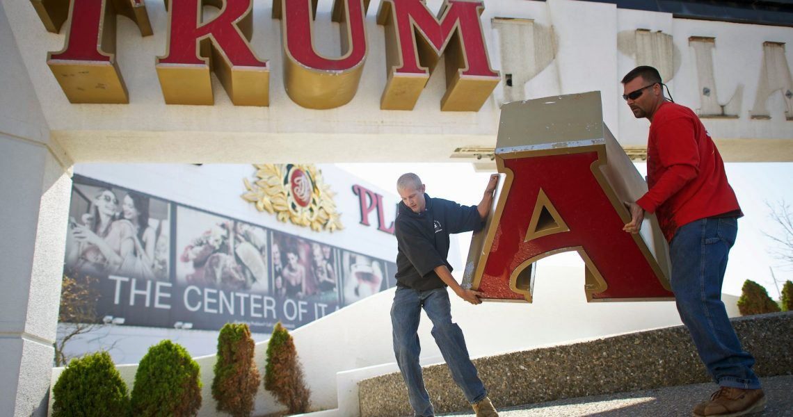 Atlantic City Officials Pushing for Trump Plaza Demolition