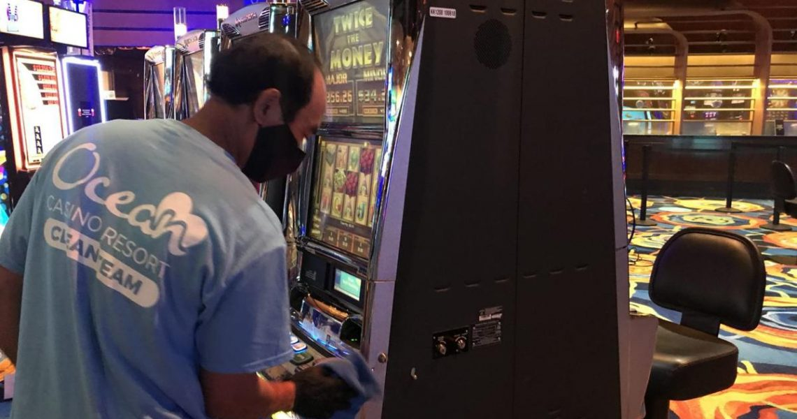 Ocean Casino AC Creating New Slot Space