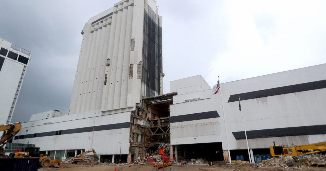 Trump Plaza Hotel & Casino Implosion Date Draws Near