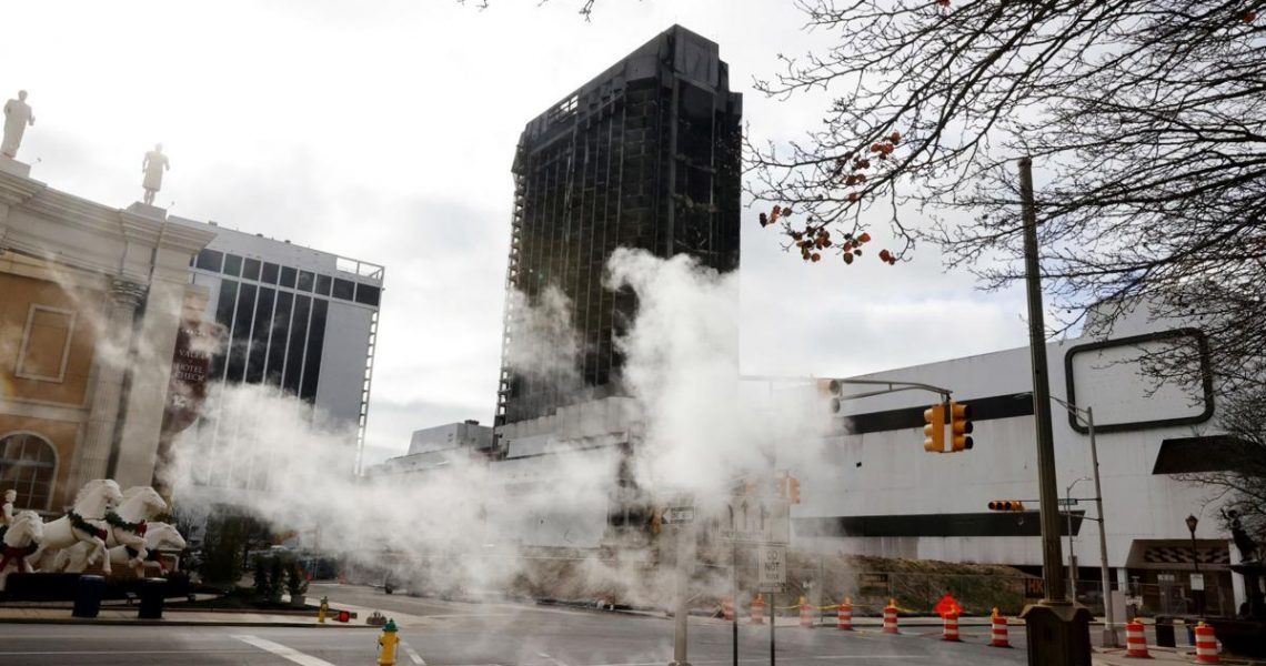 New Viewing Party Auction Planned for Trump Plaza Implosion