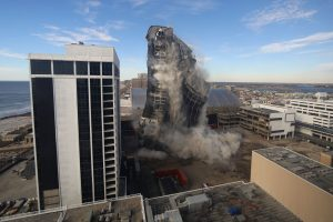 The Trump Plaza Is No More After Today's Implosion